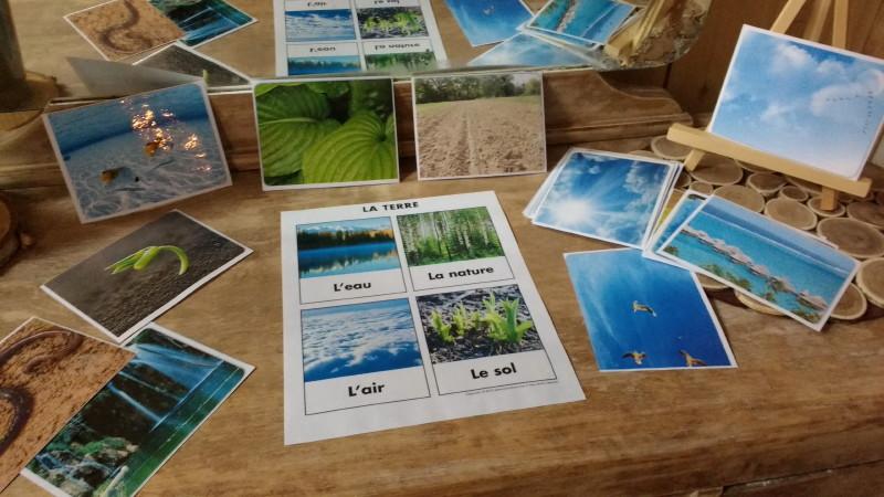 Classer les images eau-terre-air