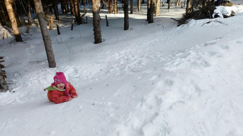 Inauguration de la Maison des Enfants en Forêt sous le thème de l'hiver