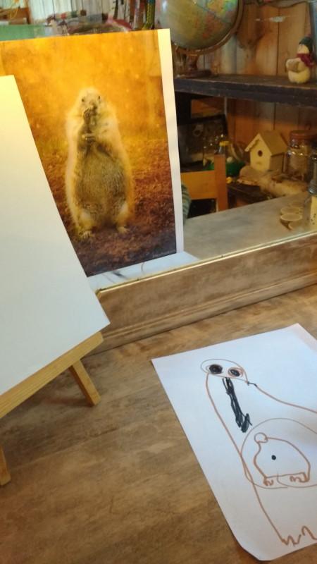Marmotte et Chandeleur