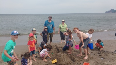 Défi: Construction d'un château de sable